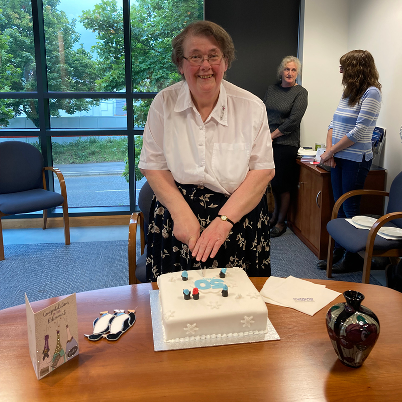 Catherine closes the books after 50 years