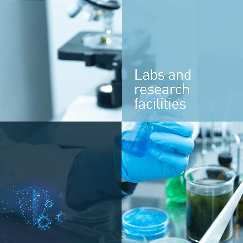 Labs and research facilities