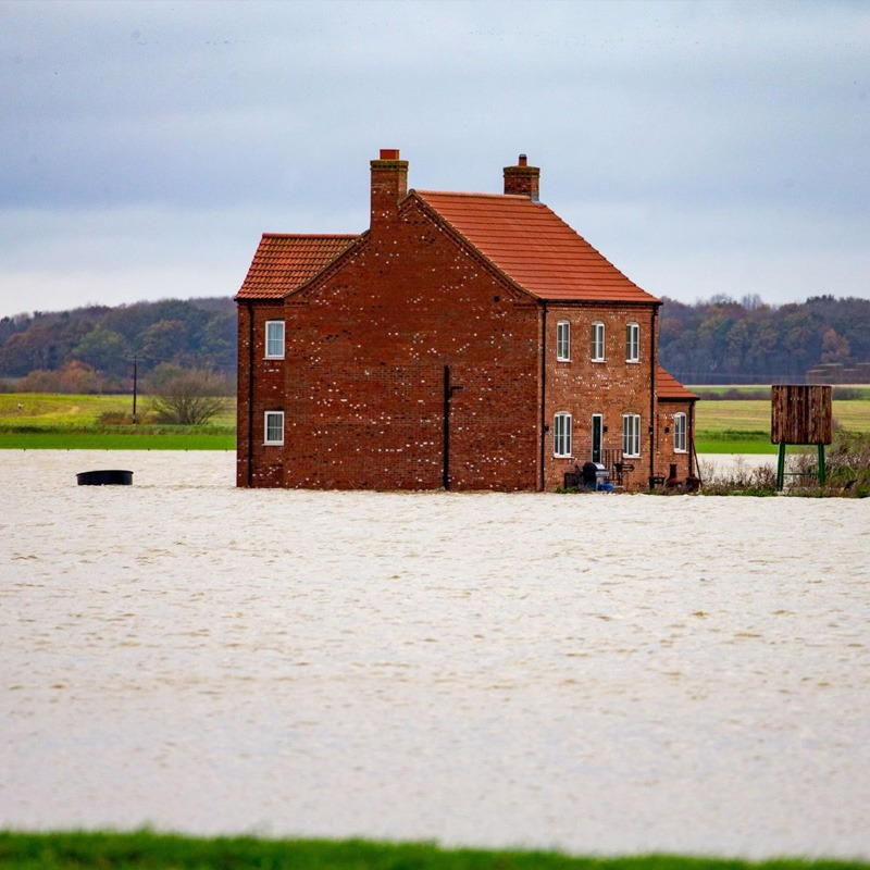 The long term cost of flooded farms