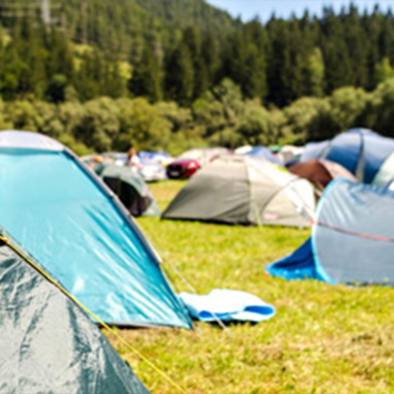 Carry on camping, it's good for the economy!